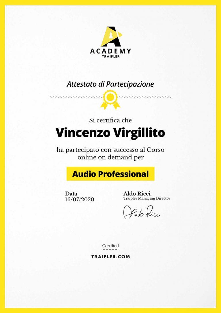 AttestatoAcademy_Audio-professional